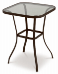 Courtyard Creations TGS27SJ Verona Balcony Table, 27 x 27-In. Square