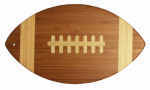 Totally Bamboo 20-7670 Football Cutting Board