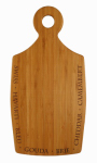 Totally Bamboo 20-7785 Chubby Cheese Board