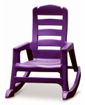 Adams Mfg 8480-12-3931 Kids' Lil' Easy Rocking Chair, Bright Violet
