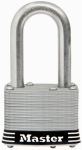 Master Lock 1SSKADLFHC Laminated Padlock, 1.5-In. Shackle, Keyed