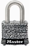 Master Lock 3SSKADHC Weatherproof Laminated Padlock, Stainless Steel, 1.5-In., Keyed