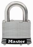 Master Lock 5SSKADHC Laminated Padlock, Stainless Steel, 2-In., Keyed