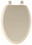 Bemis Mfg 141EC 006 Toilet Seat, Elongated, Bone Wood