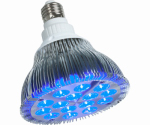 Hydrofarm PPB1002 LED Hydroponic Bulb, Blue, 15-Watts