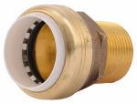 Sharkbite/Cash Acme UIP140A Push Fit Pipe Connector, 1-In. PVC x 1-In. MPT