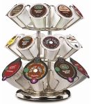 Keurig Green Mountain 119351 2.0 K-Cup Coffee Carousel, Holds 24 Packs