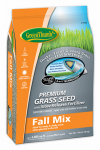 Dlf GREUN225 Premium Coated Fall Turfgrass Seed Mix, 7-Lbs.
