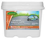 Dlf GREUN245 Green Thumb  Premium Coated Bermuda Grass Seed - For Southern & Coastal Zones - Pail 5lb.