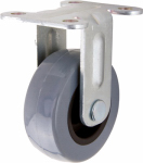 Shepherd Hdwe Prod 3543 TPU Rigid Caster, 2-In.