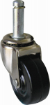 Shepherd Hdwe Prod 9193 Soft Rubber Stem Caster, 2-In.