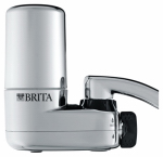 Clorox Sales Co Brita 35618 Faucet-Mount Water Filtration System, Chrome