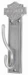 Ace Product Management Group HDL-10137 Harley Davidson Coat Hook, Antique Pewter Bar & Shield