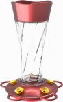 Classic Brands 79 Hummingbird Feeder, Glass Twist, 11-oz.