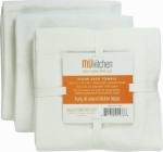 Mukitchen 6600-1201 3PK WHT FlourSack Towel