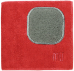 Mukitchen 6658-0906 12x12 RED Micro or Micron or Microfiber Cloths