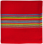 "Mukitchen 6678-1326 2PK 12""RED Strip Cloths"