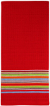 Mukitchen 6688-1326 2PK RED Stripe Towels