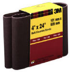 3M 9280 4 x 24-In. 120-Grit Cloth Sanding Belt