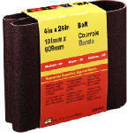 3M 9281 4 x 24-In. 80-Grit Cloth Sanding Belt