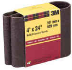 3M 9282 4 x 24-In. 50-Grit Cloth Sanding Belt