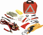 Wilmar W1555 Emergency Roadside Assistance Kit, 49-Pc.