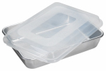 Nordic Ware 46603 Cake Pan With Lid, Aluminum, 9 x 13-In. Rectangular