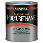 Minwax The 63000 Polyurethane Finish, Gloss, 1-Qt.