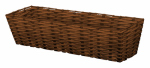 Panacea Products 82310 Resin Wicker Window Planter, Natural, 24-In.