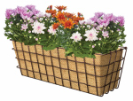 Panacea Products 83330 Rustic Wire Window Basket, 24-In.