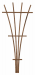 "Panacea Products 83737 48"" BRN Wood or Wooden Fan Trellis"