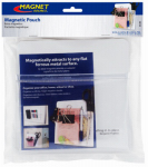 Master Magnetics 08142 Magnetic Pouch, 6.5 X 6.5-In.