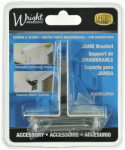Hampton Products-Wright V1020RJBWH Replacement Jamb Bracket, White