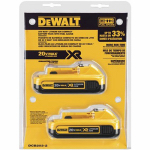 Black & Decker/Dewalt DCB203-2 20-Volt Lithium-Ion Batteries, 2-Pk.