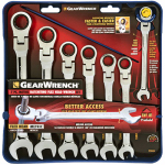 Apex Tool Group-Asia 9900 Combination Ratcheting Wrenches, Metric, 7-Pc.