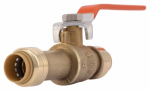 "Sharkbite/Cash Acme 24735LF 1/2"" Slip Ball Valve"