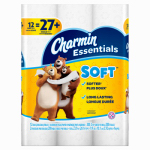 Procter & Gamble 96607 Charmin Essentials Soft Toilet Paper 12 Giant Rolls