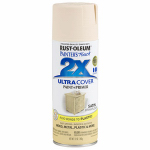 Rust-Oleum 249065 Painters Touch 2X Spray Paint, Satin Straw Flower, 12-oz.