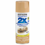 Rust-Oleum 249103 Painters Touch 2X Spray Paint, Gloss Khaki, 12-oz.