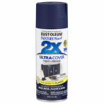 Rust-Oleum 249854 Painters Touch 2X Spray Paint, Satin Midnight Blue, 12-oz.