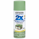 Rust-Oleum 249072 Painters Touch 2X Spray Paint, Satin Leafy Green, 12-oz.