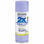 Rust-Oleum 249079 Painters Touch 2X Spray Paint, Satin French Lilac, 12-oz.