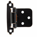 Brainerd Mfg Co/Liberty Hdw H0103BL-VBC-U1 Self-Closing Overlay Hinge, Bronze/Copper, 10-Pk.