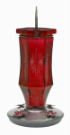 Woodstream 8139-2 Hummingbird Feeder, Vintage Ruby Starburst