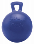 Horsemens Pride 410 BL Jolly Ball, Blue, 10-In.