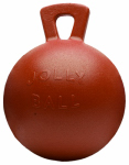 Horsemens Pride 410 RD Jolly Ball, Red, 10-In.