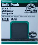 Ali Industries 4241 25-Count 9 x 11-Inch 220-Grit Waterproof Sandpaper