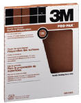 3M 88619 Garnet Sandpaper, 120-Grit, 9 x 11-In., 25-Ct.