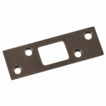 Belwith Products 1010-VB Security Strike, Vintage Bronze, 1.25 x 3-5/8-In.