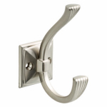 Brainerd Mfg Co/Liberty Hdw TVPINST-SN-U Pinstripe Hook, Satin Nickel, 1.75 x 2.65 x 4-In.